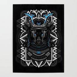 Samurai Panther Poster
