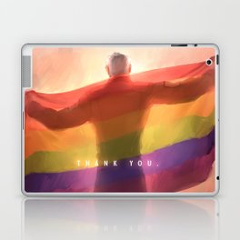 Shiro pride flag Laptop & iPad Skin