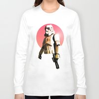 stormtrooper Long Sleeve T-shirts featuring Stormtrooper by Skyfisher