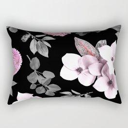 Night bloom - pink blush Rectangular Pillow