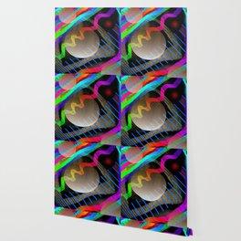 Rainbow Wave Wallpaper
