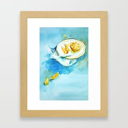 Life of Orange Framed Art Print