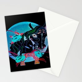 Day of the Dead Horse Stationery Cards