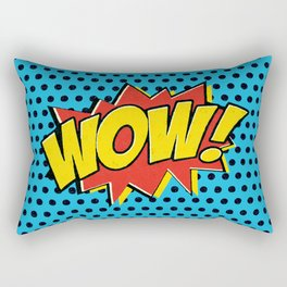 Wow! Rectangular Pillow