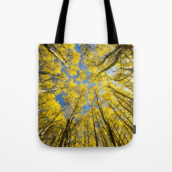 Trees Up Above Us Tote Bag