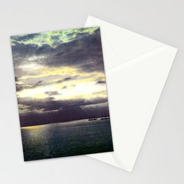 Vintage Sunset Waters : St Lawrence River 1901 Stationery Cards