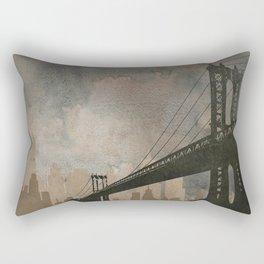 Bridging Gaps Rectangular Pillow