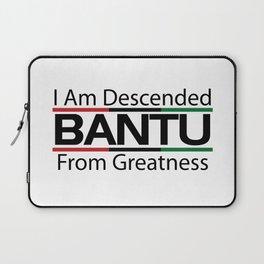 RBG/Pan-African Bantu Descended Laptop Sleeve