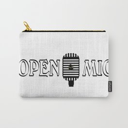 Open Mic Night Carry-All Pouch