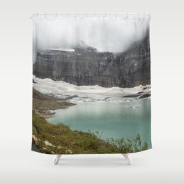 Grinnell Glacier - Expiration Date 2030 Shower Curtain