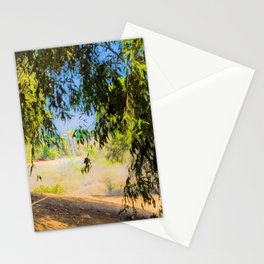 a walk into trees Stationery Cards