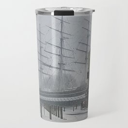 The Clipper in the snow Travel Mug
