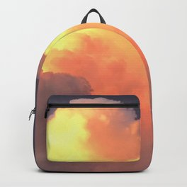 Texas Glowing Thunder Clouds Backpack