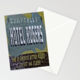 Idaho Falls - Vintage Hotel Rogers Better Place To Eat And Sleep Stationery Cards