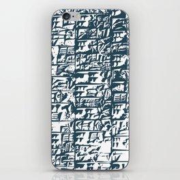 Cuneiform Tablet iPhone Skin