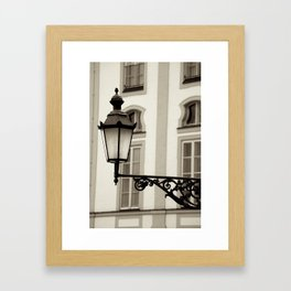 Village light Framed Art Print