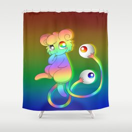 Eyesore Rainbow Shower Curtain