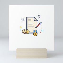 Scholarship 9 Mini Art Print