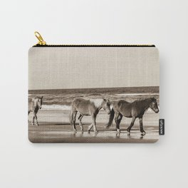 Horses of OBX Carry-All Pouch