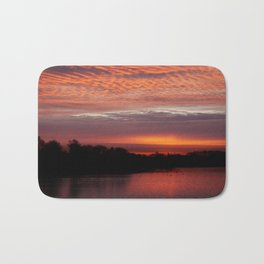 Red Sky Bath Mat