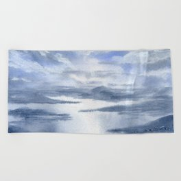 As Above, So Below. Beach Towel