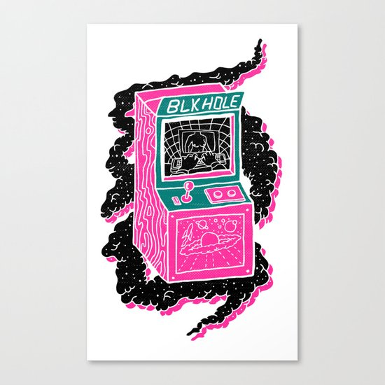 BLK HOLE Canvas Print
