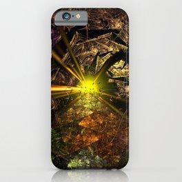 Machu Picchu 3D Fractal iPhone Case