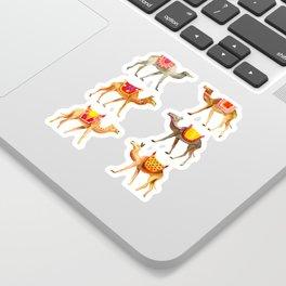 Cute watercolor camels Sticker