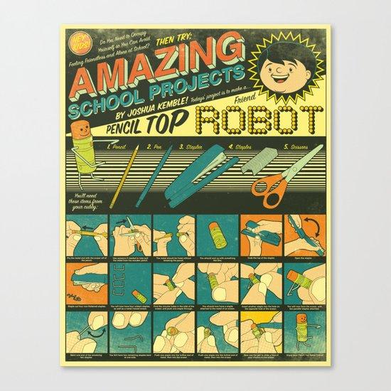 Amazing School Projects Canvas Print
