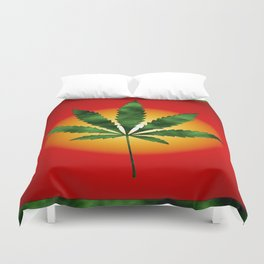 Glowing.... Duvet Cover