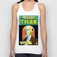 tyler spangler Tank Tops featuring John Tyler by @DrunkSatanRobot