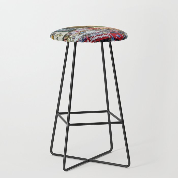 Times Square II Special Edition I Bar Stool
