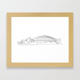 Young and Free Framed Art Print