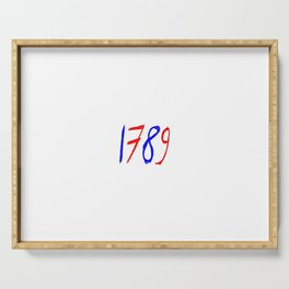 1789 chalk version Serving Tray