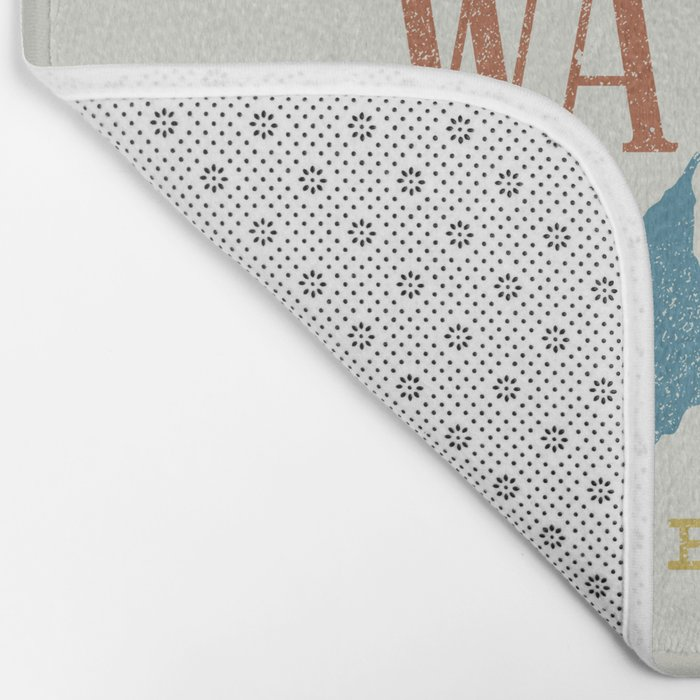 Not All who Wander are Lost Bath Mat