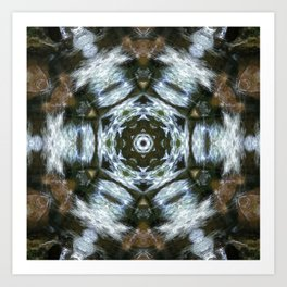 Waterstar Art Print