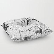 Comic Floor Pillow