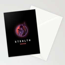 Stealth Squad Stationery Cards