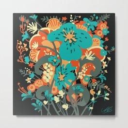 Grettel's Bouquet Metal Print