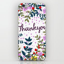 Thankyou iPhone Skin