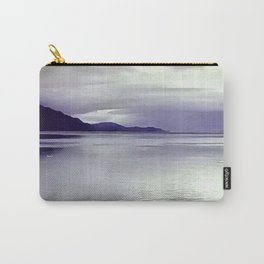 River View in Purple Carry-All Pouch