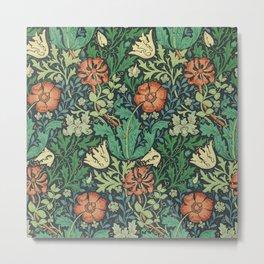 """William Morris """"Compton"""" Metal Print"""