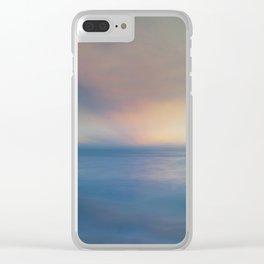Samoa Sunset Clear iPhone Case