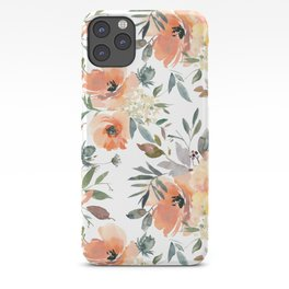 Peachy Keen Pattern iPhone Case