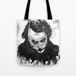The joker in B&W Tote Bag
