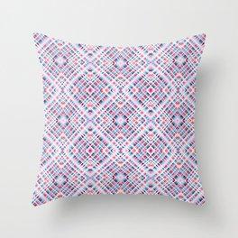 Strigoi - Line Art Diamond Stripes Pattern Throw Pillow