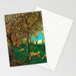 Hans Thoma At Lake Garda Stationery Cards