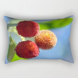 Strawberry tree fruits 8697b Rectangular Pillow