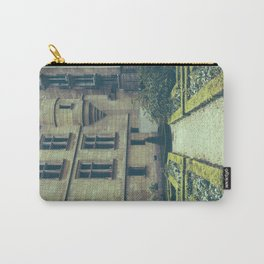 French Garden Maze Carry-All Pouch