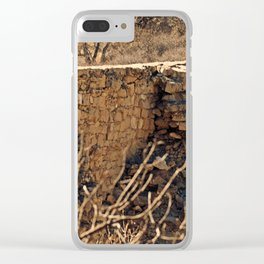 Crumbling Clear iPhone Case